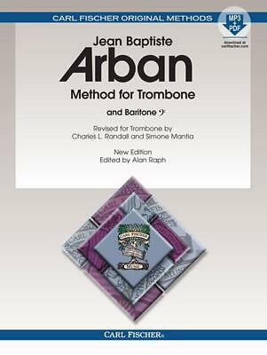 Jean-baptise Arban Softcover Book With Mp3 Brass Dynamic Arban's O23x Method For Trombone