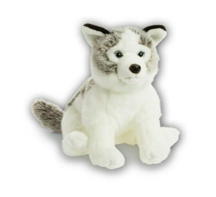 WWF 00218 Husky 30 cm Soft Stuffed Toy Plush Collection