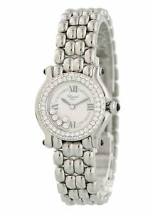 Chopard-Happy-Sport-8245-Diamond-Bezel-Laides-Watch