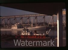 1960s  ektachrome 35mm Photo slide  North King  ship tugboat ?    Louisiana ??