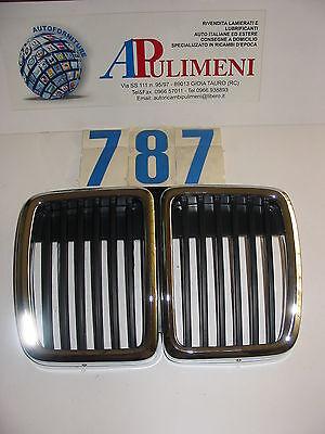 1109510 Griglia Paraurti (front Grille) Scudo Bmw S.3 E30 82->90 Famoso Per Materiali Selezionati, Disegni Innovativi, Colori Deliziosi E Lavorazione Squisita