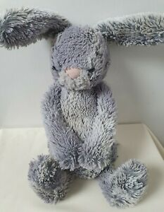 Jellycat Bashful Cottontail MEDIUM Bunny Silver Toy Plush Comforter FAST POSTAGE