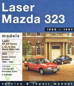 gregorys service repair manual ford laser mazda 323 astina 89 94 rh ebay com Mazda Astina Lambo Door 1988 mazda 323 owner's manual
