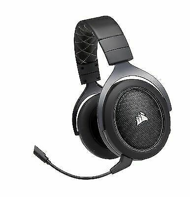 Corsair HS70 Surround Over the Ear Gaming Headset - Carbon for sale online  | eBay