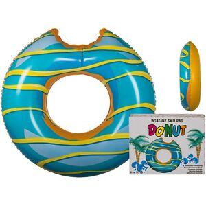 """Aufblasbarer Schwimmring Schwimm-Ring Riesen-Donut """"Blauer Donut"""" Ø ca. 119 cm"""