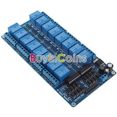 5V 1/2/4/8 12V 16 Channel Relay Module W/ LED Indicator Light For Arduino