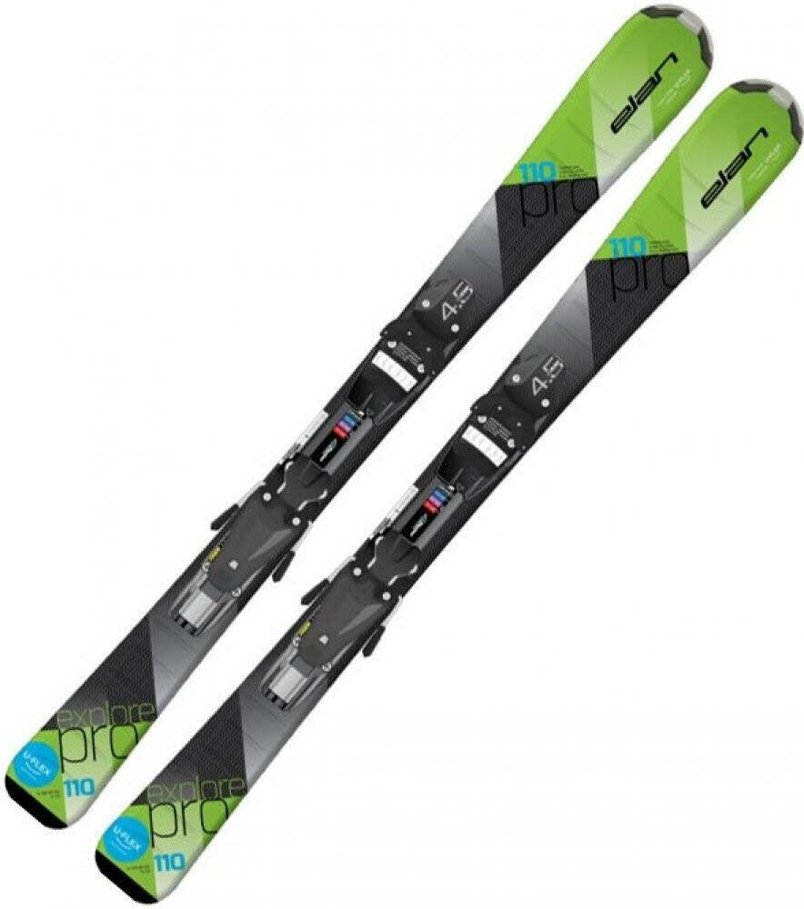 Elan Explore Pro QS Kinder Skiset Ski Alpin Jr. Alrond NEU