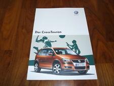 VW Cross Touran Prospekt 10/2007