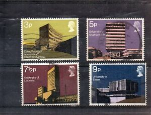 GB-Queen-Elizabeth-Set-of-Four-used-stamps-SG-890-to-893