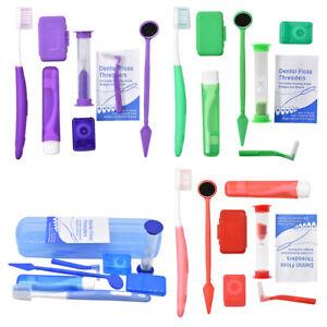 Dental-Orthodontic-Brush-Ties-Toothbrush-Interdental-Floss-Oral-Care-Travel-Kit