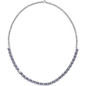 Collana-Donna-BREIL-ROLLING-DIAMOND-TJ1570-Acciaio-Swarovski-Viola-NEW-FIV