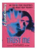 MELINDA METZ ___ TRUST ME ___ FINGERPRINTS 3 __ AUSSTELLUNGSSTÜCK ___
