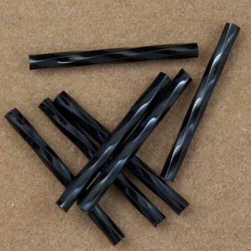 40 grams 25mm Black Twist Bugle #CBQ004