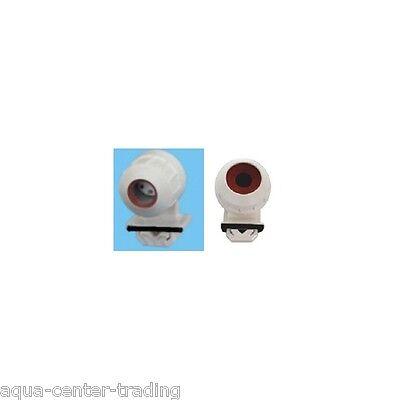 2 Douilles étanches à clipser  pour tube néon T5 Φ 16 mm