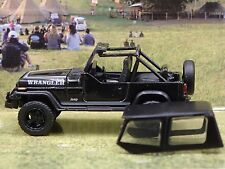 1989 JEEP WRANGLER RARE 1/64 LIMITED EDITION DIECAST COLLECTIBLE DIORAMA MODEL