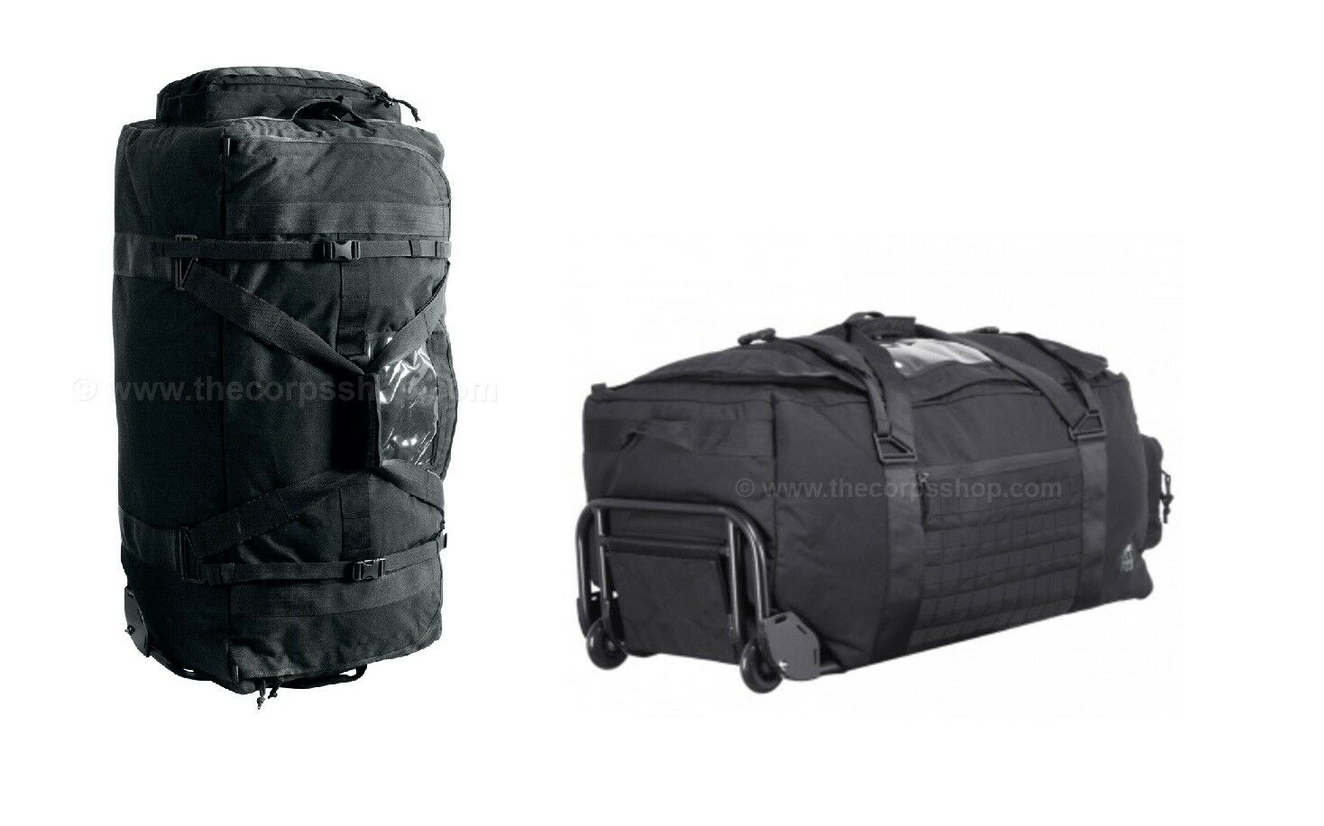 TASMANIAN TIGER TRANSPORTER BAG - HEAVY FRAME DUFFLE WITH WHEELS 700D CORDURA