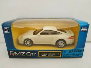 1-64-PORSCHE-911-TURBO-997-COCHE-DE-METAL-A-ESCALA-SCALE-DIECAST