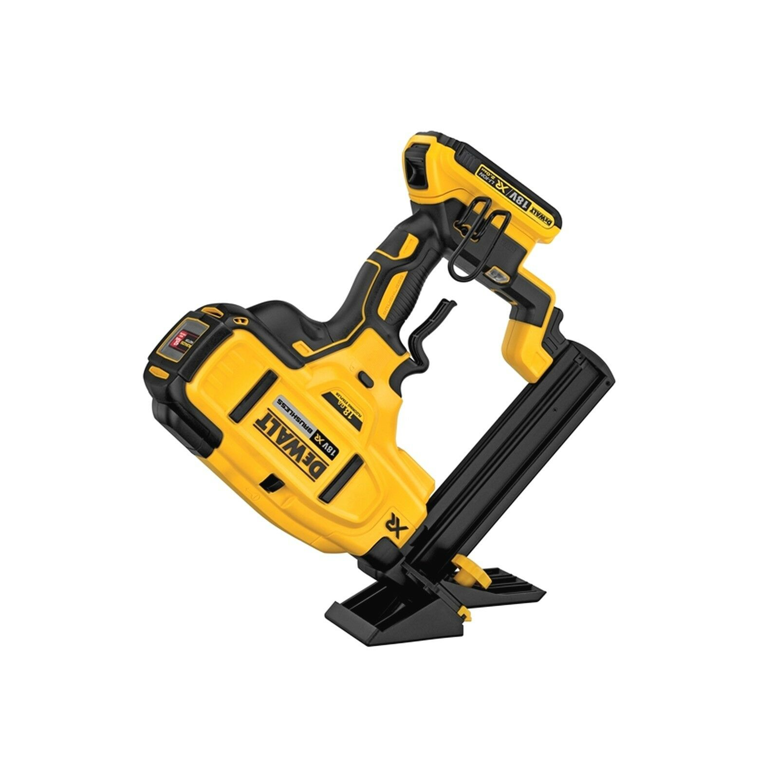 DEWALT DCN682D2 XR Brushless 18G Floor Stapler 18V 2 x 2.0Ah Li-ion