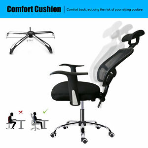 Home Office Chair Swivel Ergonomic Executive Computer Desk Seat Task Mesh Chairs