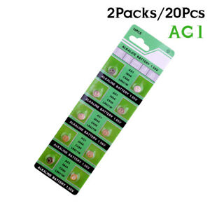 20x-AG1-364-LR621-164-531-SR60-SR621SW-1-55V-Alkaline-Watch-Coin-Cell-Battery-0