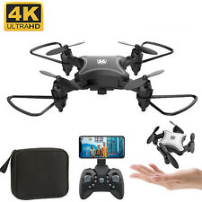KY902 Mini Foldable WiFi FPV RC Drone 4K HD Camera Wide Angle Flow RC Quadcopter