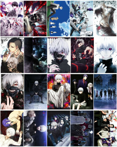 20pcs//set Tokyo Ghoul Card Paster IC Card Stickers A011