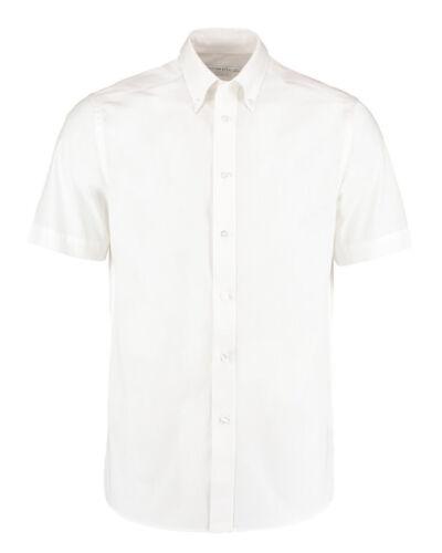 Kustom Kit Men/'s City Short Sleeve Business Shirt