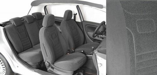 Honda Jazz II Maßgefertigte Atmungsakttive Velours Sitzbezüge VGS1