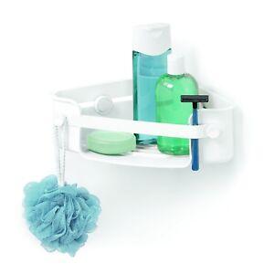 White FREE2DAYSHIP TAXFREE NEW Umbra Flex Shower Caddy