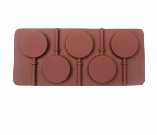 Silicone Lollipop Mold Cake Decorating Candy Tray Stick Tool Baking Cake Molds