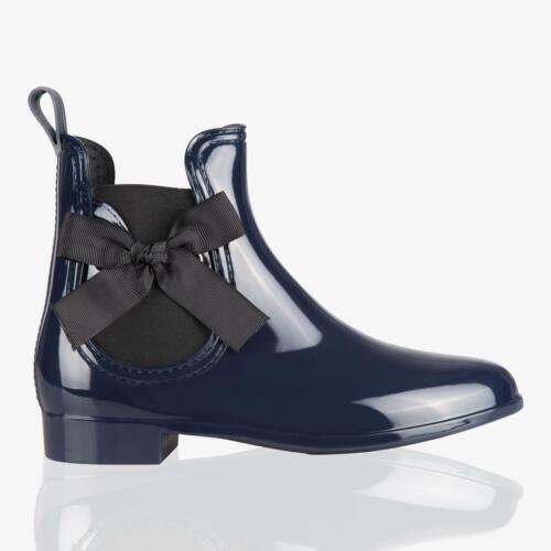 Femmes Bottes Pluie Imperméable Chaussures Caoutchouc Uni Clous Etanche Fourrure