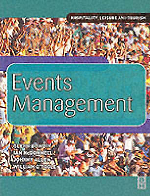 EVENTS MANAGEMENT (HOSPITALITY LEISURE & TOURISM)-ExLibrary