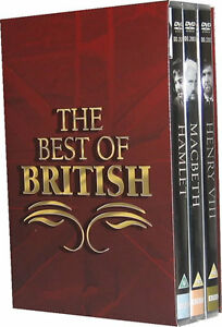 Image Is Loading Best Of British Bbc Dvd The Shakespeare Collection