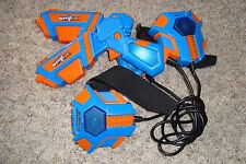 2 SPY NET Lazer Tag Laser Guns Spynet Strike Battle Head to Head 2 players