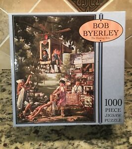 THE-HEALING-ARTS-by-Bob-Byerley-Puzzle-1000-Piece-JIGSAW-PUZZLE-Used