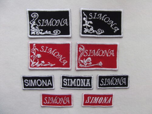 1 FOR FREE BUY 5 CUSTOM NAME PATCHES SEW ON PATCHES