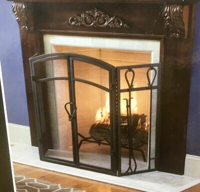 Twin Star International Midnight Cherry Fireplace Surround Kit
