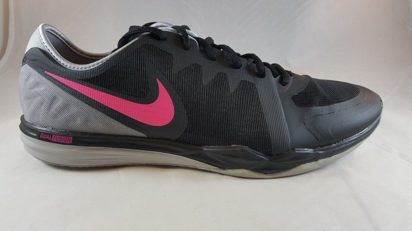 Nike Dual Fusion TR Shoe 3 Women's Cross Training Shoe TR 704940 007 Size 9 746cc4