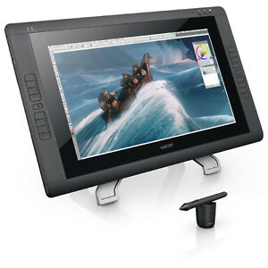 Wacom Cintiq 22HD - 22  HD, wide-format  Interactive Pen Display Tablet with Gr