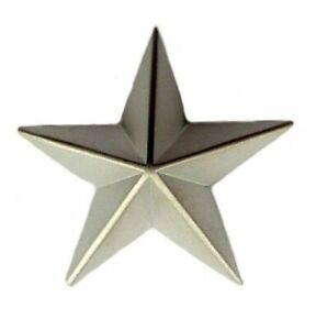 Pin-Anstecker-Stern-silberfarben-Anstecknadel
