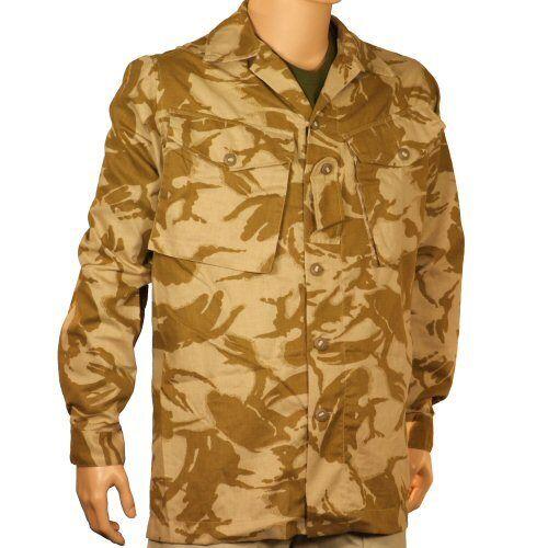 New Genuine Issue Unissued British S95 Desert DPM Combat Shirt