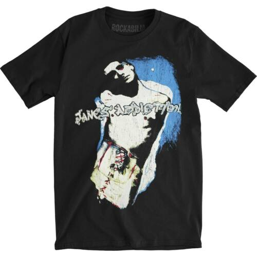 Janes Addiction Men/'s Perry Slim Fit T-shirt XX-Large Black