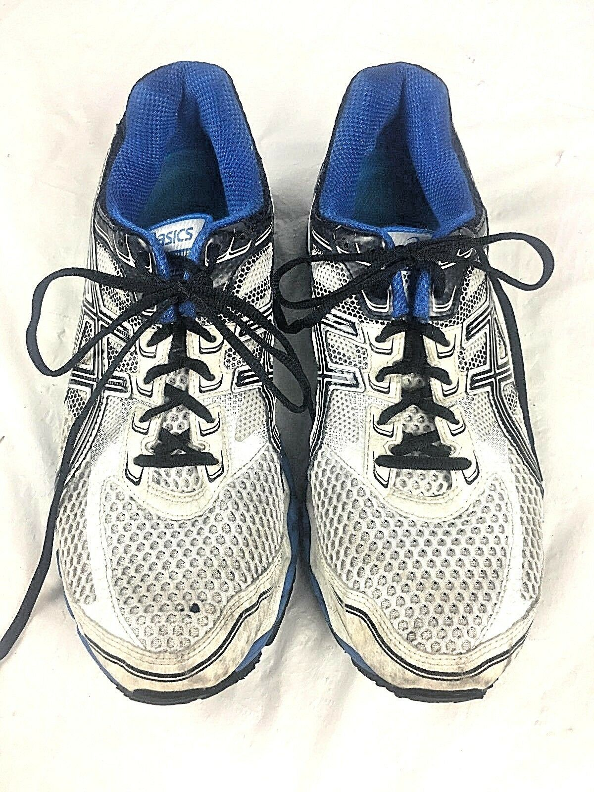 ASICS Gel Cumulus 15 Running shoes Mens 11 White bluee Black