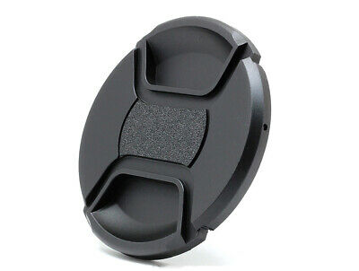 62mm Universal Front Lens Cap Centre Pinch Snap-on for all Lenses UK STOCK