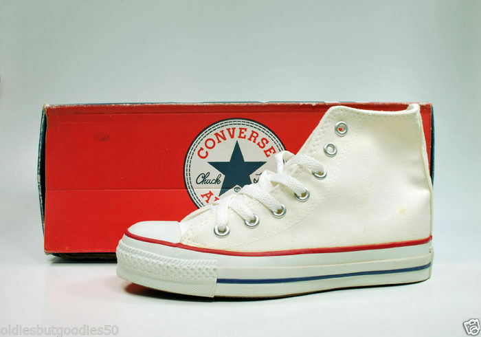 CONVERSE All Star Hi Op MADE IN USA Optic White Sneakers M7650 Women shoes   54