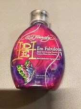 Ed Hardy Im Fabulous Instant Dark Bronzing Tanning Lotion 13.5 oz