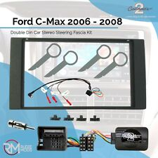 Car CD Stereo Fitting Kit Fascia Stalk Steering Control for FORD Mondeo 03-2007