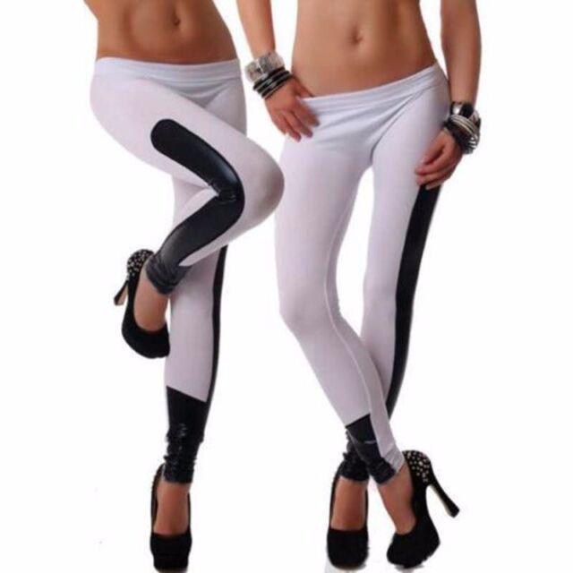 UK NEW Women Sports Skinny Print Leggings Stretchy Sexy Jeggings Pencil Pants