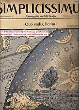 1957 1958 1959 54-66 Simplicissimus cumpleaños periódico - 60. 59. 58. cumpleaños
