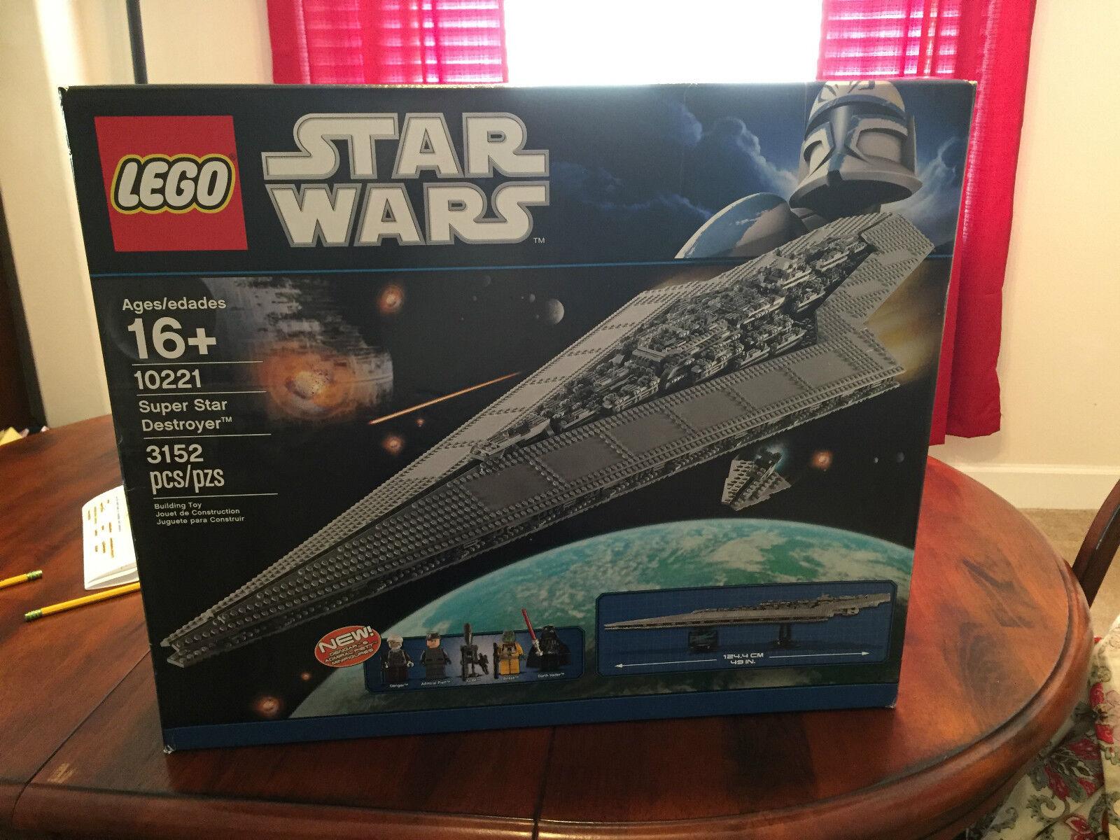 LEGO 10221 estrella guerras Super  estrella Destroyer unopened(Discontinued by uomoufacturer)  prodotti creativi